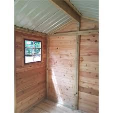 3 64 x 2 55m master cedar shed