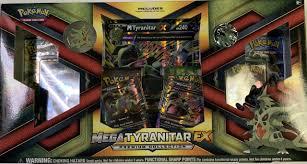 Mega Tyranitar EX Premium Collection Box Gift Set Pokemon