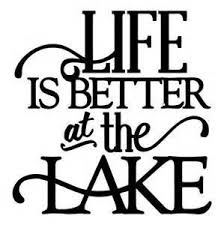 Life Is Better At The Lake Fishing Camping Vinyl Decal Sticker Cars Trucks Suv Laptops Boats Kayak Tool Box Wall Art 5 5 X 5 Wish