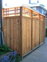 Craftsman Style Fences And Gates Asian Fence Design Ideas Pictures Remodel And Decor Backyard Fences Fence Design Easy Fence