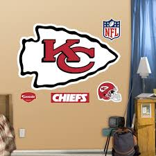 Fathead Kansas City Chiefs Logo Wall Decals