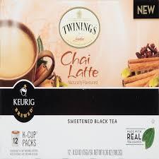 twinings chai latte sweetened black