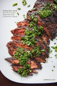 skirt steak recipe steak rub eat