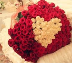بوكيه ورد كبير اجمل باقات الورود كلام نسوان