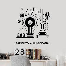 Creative Inspiration Vinyl Wall Decal For School Chemistry Table Teen Room Wall Stickers Classroom Decoration Self Adhesive Wall Stickers Design Wall Stickers Flowers From Joystickers 16 29 Dhgate Com