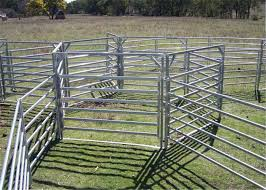 Heavy Duty Galvanized Livestock Cattle Panel Used Corral Panels