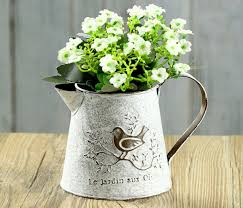 pack french style white shabby pitcher