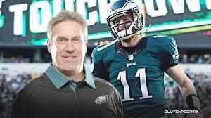 Eagles news: Doug Pederson on play leading to Carson Wentz interception