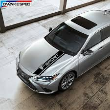 Car Styling Bonnet F Sport Stripes Racing Auto Hood Engine Cover Decor Stickers Exterior Decals For Lexus Is Rx Nx Ct Gx Is Car Stickers Aliexpress