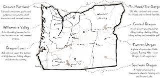 Map of Oregon's Cities & Regions | Oregon travel, Oregon city, Oregon  tourism