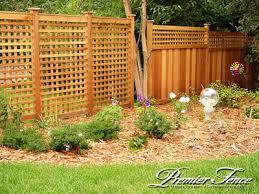 Wood Lattice Fence St Paul Fence Minneapolis Twin Cities Fence Company