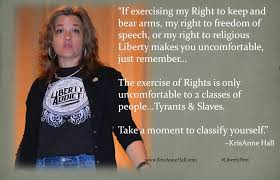 """Today's #Point2Ponder: """"...the Right of... - KrisAnne Hall, JD 