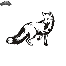 Hunt Fox Decal Hunting Club Sticker Hollow Sticker Hunter Car Window Vinyl Decal Funny Poster Motorcycle Vinyl Decal Fox Decaldecals Motorcycle Aliexpress