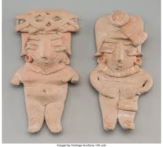 Two Chupicuaro Miniature Figures... (Total: 2 Items) Ceramics & | Lot  #70556 | Heritage Auctions
