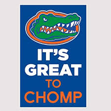 Amazon Com Florida Gators It S Great To Chomp Vinyl Decal Car Truck Window Uf Car Sticker Automotive