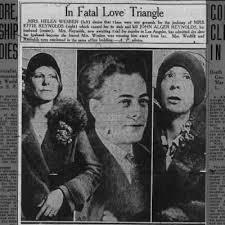 Criminal Genealogy: Effie Wells-Reynolds: Stabs Husband As He Sleeps