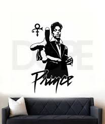 Singer Prince Full Color Decal Sticker Size Choice For Car Wall Laptop