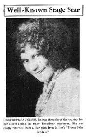 Gertrude Saunders   BETTY BOOP Wiki   Fandom