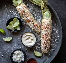 mexican street corn with homemade