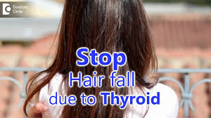 hair loss occur due to thyroid issues