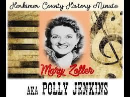 Herkimer County History Minute - Mary Zoller (aka Polly Jenkins) - YouTube