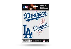La Dodgers Window Decal Set Sticker Officially Licensed Mlb Aftermarket Replacement Non Factory Custom Sticker Shop