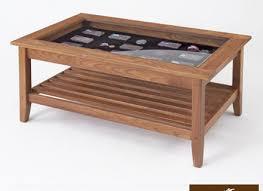 52 cedar window coffee table rustic