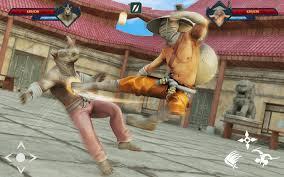 siêu ninja kungfu hiệp sĩ bóng samurai trận chiến cho Android ...