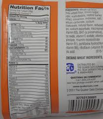 quaker oatmeal squares cinnamon snack