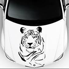 Car Decals Hood Decal Vinyl Sticker Tiger Wild Cat Animal Auto Decor Graphics Os21 20x31 Wish