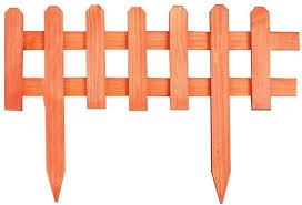 Lxjymx Plug In Fence Garden Fence Large Wooden Fence Fencing Fence Wooden Fence Size 60 40cm Amazon Co Uk Kitchen Home
