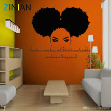 Tribal African Woman Decal Beauty Quote Beautiful Afro Girl Home Decor Living Room Bedroom Confidence Wall Stickers Salon Stickers On Wall Stickers On Walls From Onlinegame 20 72 Dhgate Com