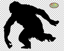Bigfoot Silhouette Sasquatch Music Festival Yeti Silhouette Mammal Animals Sticker Png Klipartz