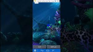 تطبيق رائع جدا خلفية شاشة محيط واسماك ومناظر تحت البحر Dr