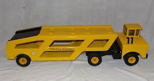 Mighty Tonka Car Carrier With Steel Decals Vintage Toy Truck Vintage Manufacture Diecast Cars Trucks Vans Basakguineamuseum Com