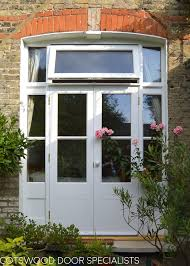 victorian french door with sidelight