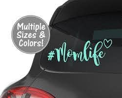 Mom Life Car Decal Car Decals For Women Car Window Decal For Etsy