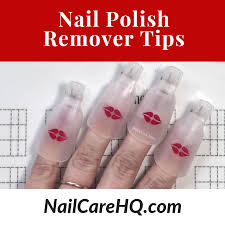 nail polish remover tips nail care hq