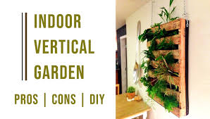 indoor vertical garden things you need