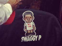 nick young wears swaggy p shirt after
