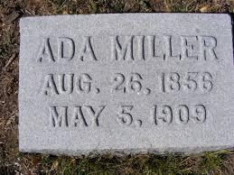 Ada Kirk Miller (1856-1909) - Find A Grave Memorial