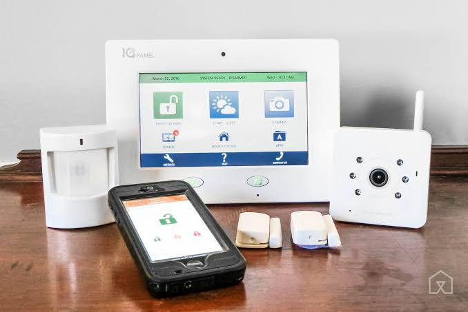 Image result for Home Security Alarm""
