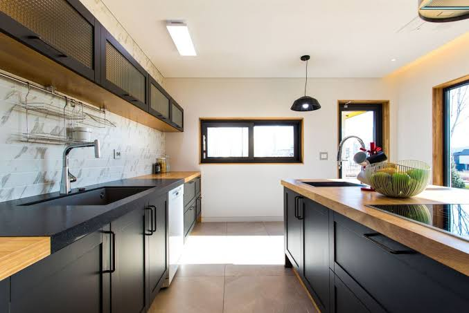 Image result for Tips for Planning a Galley Kitchen""