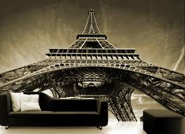 Wall Sticker Mural Paris Eiffel Tower Decole Poster 106x147 270x375cm Pulaton Online Store Powered By Storenvy