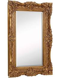 large ornate baroque frame mirror