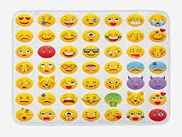 Amazon Com Emoji Rug