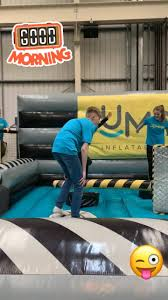 Don't let the staff have all the fun,... - Jumpin Fun Inflatable Park  Salisbury