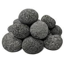 natural lava stones for gas fire pit
