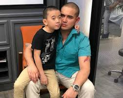 LJ Reyes' son Aki is twinning with Paolo Contis with his new haircut –  CHISMS.net