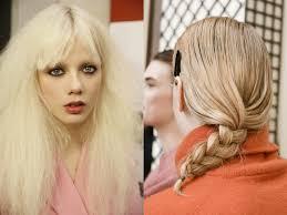 Krotkie Fryzury Blond Pasemka Frizura Wallpaper